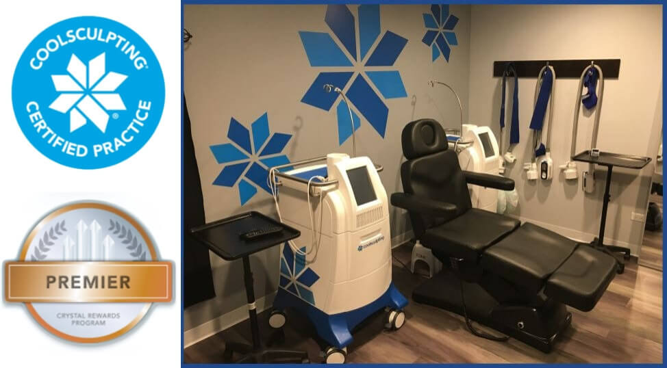 Riverside Medical coolsculpting Arlington Heights IL premier crystal